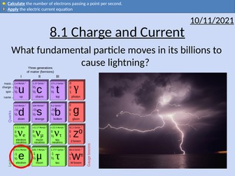 OCR AS level Physics: Current and Charge