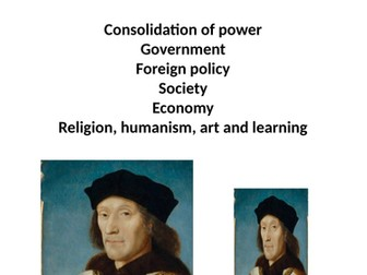 Henry VII Revision booklet