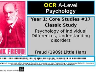 OCR A-Level Psychology: Core Study #17 Freud (1909) Little Hans