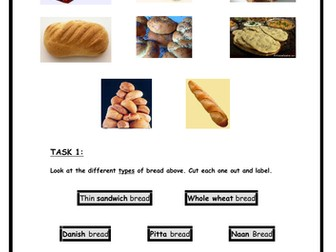 Food - Different Types of Bread