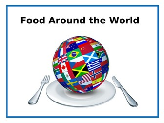 Food - World Foods PowerPoint