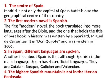 10 facts about Spain you did not know
