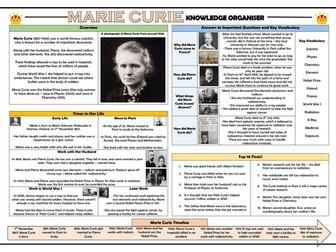 Marie Curie Knowledge Organiser!