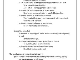 D'accord 1 Unité 8 Study Guide