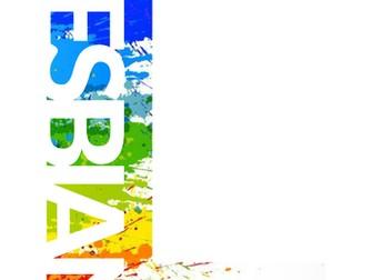 LGBTQ Letter banner