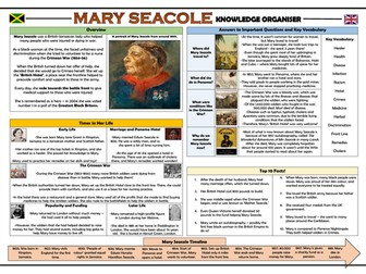 Mary Seacole Knowledge Organiser!