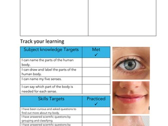 Editable Primary Science topic cover pages - KS1