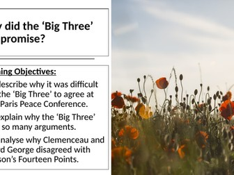 AQA: Why did the Big Three compromise?