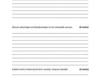 Edexcel Economics A: Theme 1 Revision Notes