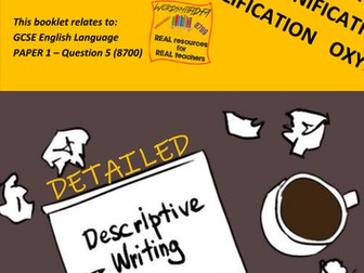 AQA 8700/1 English Language - Description Revision Workbook