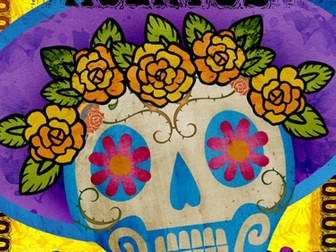 El Día de los Muertos / Day of the Dead PowerPoint - Spanish - Year 7 - Year 8