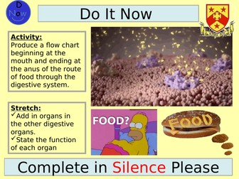 AQA ALevel - Absorption and the Products of Digestion