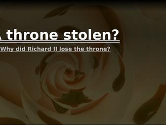 Lancastrian depth study 1: A throne stolen