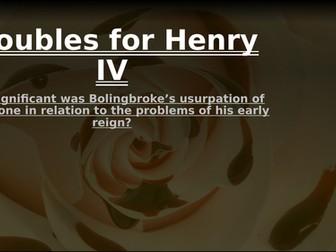 Lancastrian depth study 1: Henry in 1399