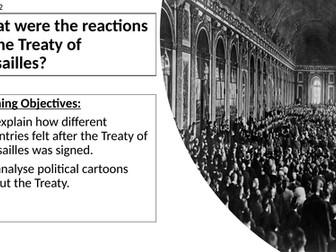 AQA: Reaction to the Treaty of Versailles