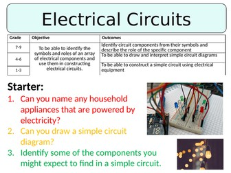 NEW AQA GCSE (2016) Physics - Electrical Circuits