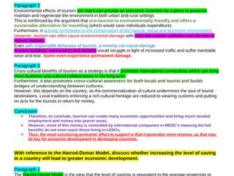 Theme 4 Edexcel Economics Essay Plans: Emerging and Developing Economies