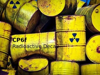 Edexcel CP6f Radioactive Decay
