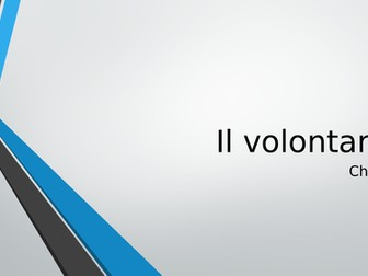 Italian GCSE Voluntary work