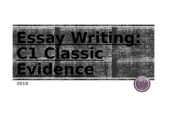 WJEC Eduqas A-Level Psychology Classic Evidence Exam technique and assessment objectives workbook