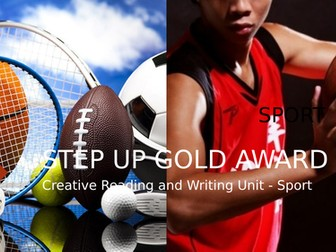 AQA Step Up to English Gold Award: Component 2 Creative Reading and Writing: SPORT scheme of work