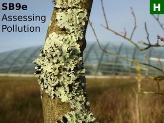 Edexcel SB9e Assessing Pollution