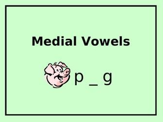 Medial Vowels - PowerPoint