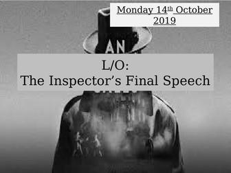 An Inspector Calls: The Inspector