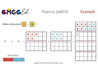 Fluency: Bridging (+ 6 with Tens Frame)