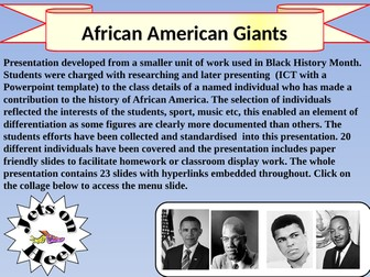 African American Icons