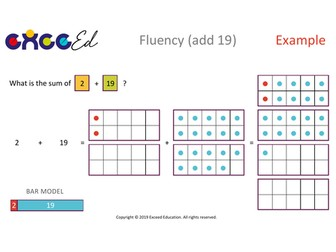 Fluency: Bridging (+ 19 with Tens Frame)