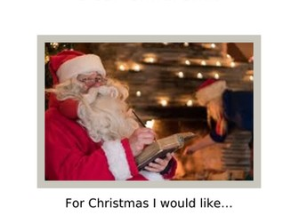 Year 5/6 Christmas Reading Comprehension - Father Christmas: Dear Children...