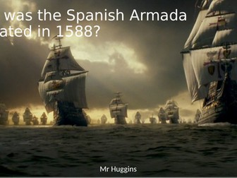 Card Sort - Why was the Spanish Armada defeated in 1588?