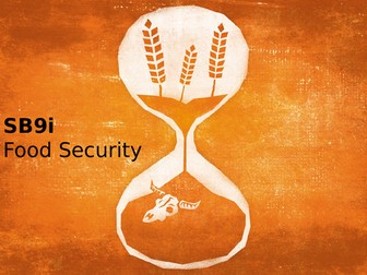 Edexcel SB9i Food Security