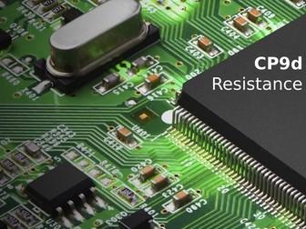 Edexcel CP9d Resistance