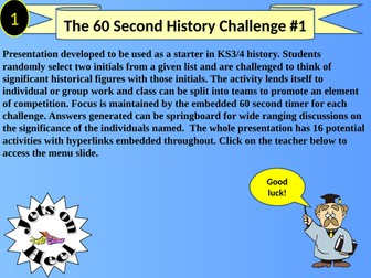 Historical Initial Challenge 1