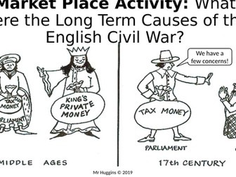 Market Place Activity - Long Term Causes of the English Civil War