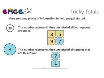 Tricky Totals: Problem Solving 'Start the Day'