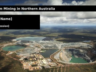 Uranium Mining in Northern Australia
