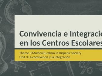 """Y13 Theme 3 Unit 3 """"La Integración Escolar"""""""