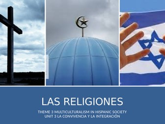 """Y13 Theme 3 Unit 3 """"Las Religiones"""""""