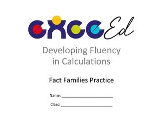 Fact Families: Addition - Decimal + Whole (upto 20)