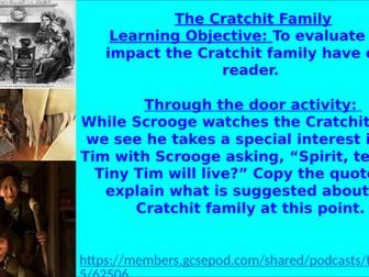 The Cratchits: Language Paper 1 Question 4