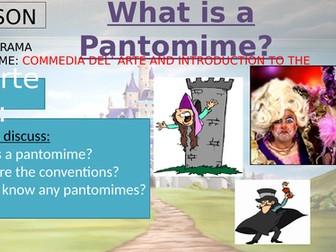 Year 7 Drama  Pantomime