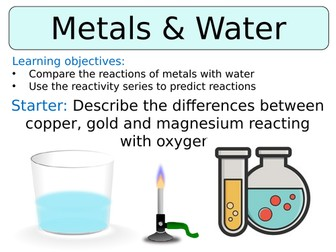 KS3 ~ Year 8 ~ Metal & Water Reactions