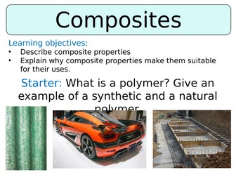 KS3 ~ Year 8 ~ Composite Materials