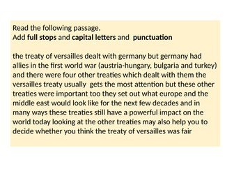 Lesson 5: What were the terms of the other treaties?