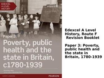 Edexcel Paper 3: Poverty & Public Health Revision Work Booklet