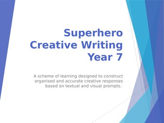 Creative Writing: Superhero SOL