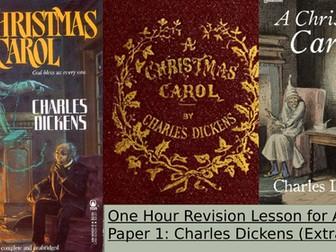Quick revision A Christmas Carol AQA